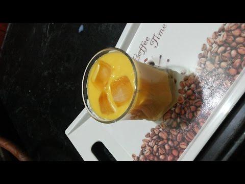 How to make Mango Milkshake - Mango Smoothie - Aam ka juice - Mango Juice.