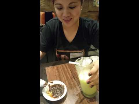 Mango shake with Bagoong:)
