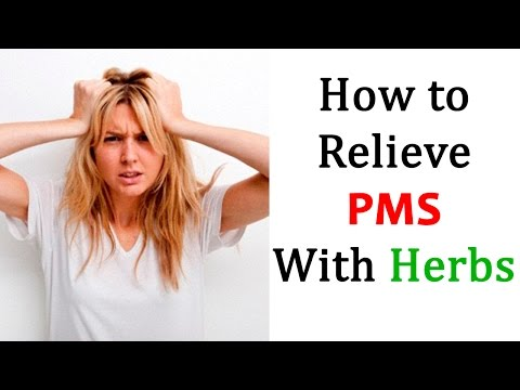 How to Relieve PMS With Herbs