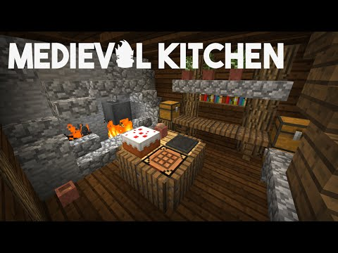 Minecraft Building w/ BdoubleO :: Medieval Kitchen! :: ep 317