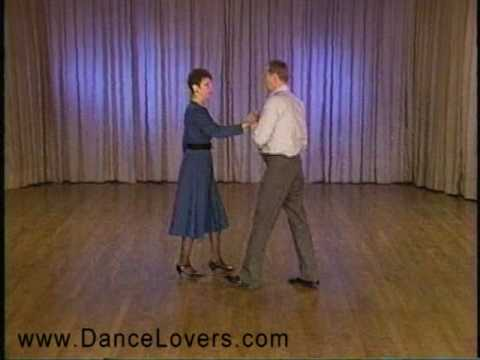 Learn to Dance the Quickstep - Quarter Turn with Progressive Chasse - Ballroom Dancing