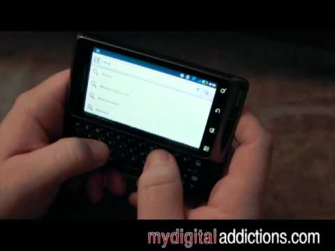 Motorola Droid 2 - Google Maps