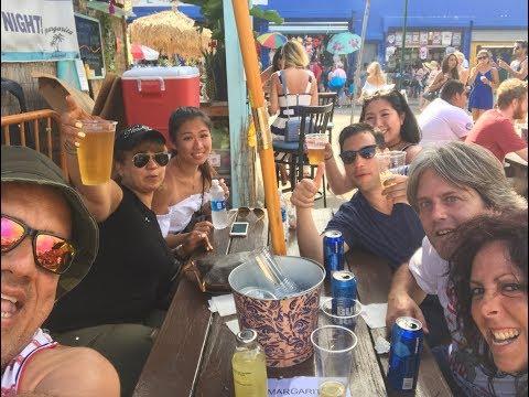 My friends in Coney Island - Daniela, Katherina, Christopher & Julio
