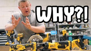 SHAME ON YOU DEWALT