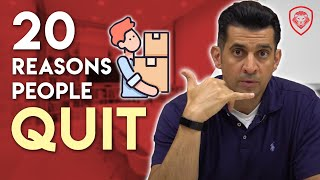 20 Reasons People Quit on You