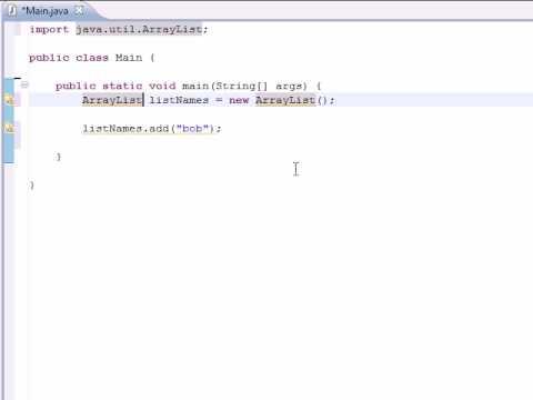 Display ArrayLists in Java