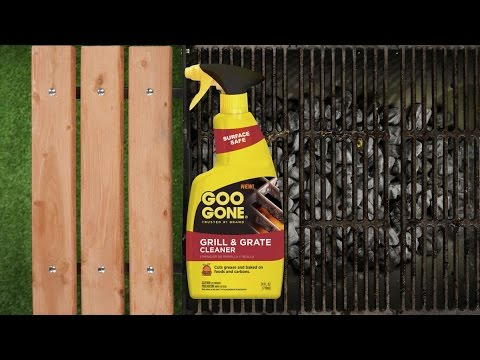 Clean Burned-On Grease Off Your Grill Easier w/ Goo Gone