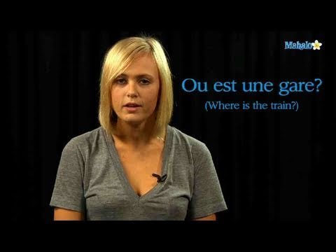 How to Ask For a Train in French