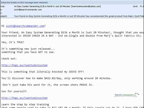 Where did that email REALLY come from? Look at the Mail Header Info!