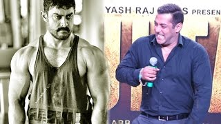 Salman Khan Makes FUN Of Aamir Khan's Body In Public | Dangal Vs Sultan