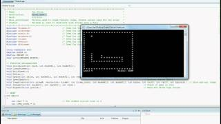code for snake game in c