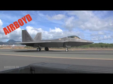 F-22 Raptor Returns to Flight (Hawaii)