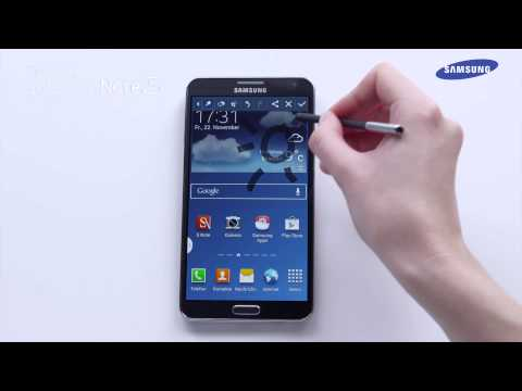 Samsung GALAXY Note 3 - Tutorial Screenshot