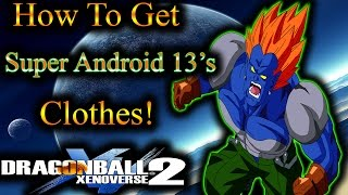 Dragon Ball XenoVerse 2: How To Get Vegeta's GT Outfit! - By