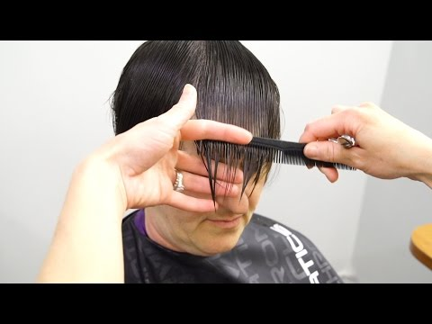 TIPS ON CUTTING FINE HAIR