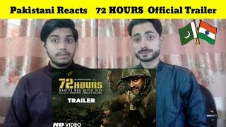 Pakistani Reacts To | 72 HOURS : Official Trailer | Avinash Dhyani, Mukesh Tiwari | REACTIONS TV