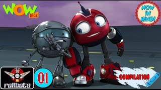 RollBots | Action compilation | #1 | Animation for kids