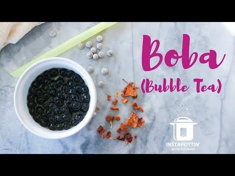 Boba (Bubble Tea) In the Instant Pot | Episode 061
