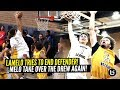 LaMelo Ball Calls Out Defender amp Tries INSANE POSTER DUNK Melo Wants ALL THE SMOKE At Drew