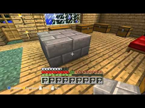Minecraft Xbox 360 - You Can Craft Stone Bricks.