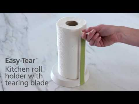 Joseph Joseph Easy Tear™   Kitchen roll holder with tearing blade