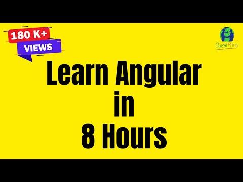 Learn Angular tutorial.