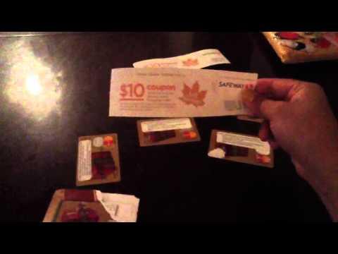 Making money on gift cards @ Safeway