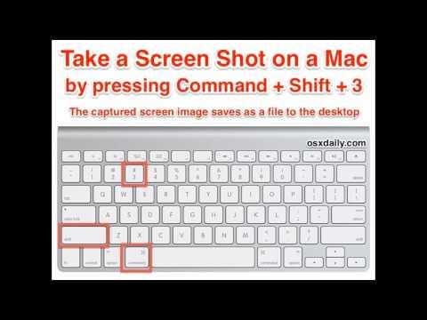print screen on mac with windows keyboard