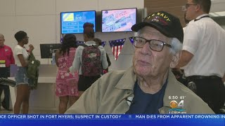 WWII Vets Honored With Free Flight To New Orleans