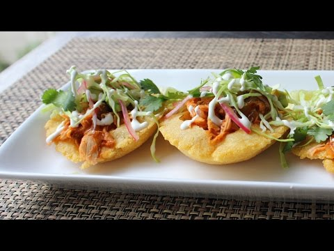 Puffy Tacos - How to Make Puffy Taco Shells - Crispy Fried Taco Shell Recipe