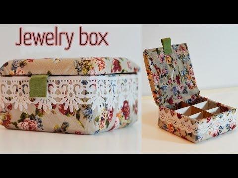 DIY Craft : Jewelry box - Ana | DIY Crafts