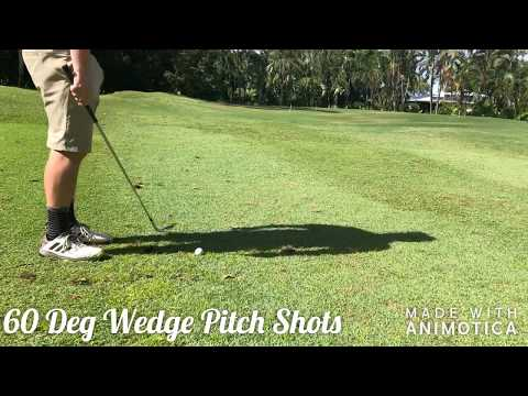 Stinger Golf Pitch Shots 60 Degree Wedge