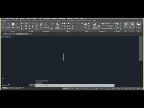 How to switch on display tab and file tab in Autocad