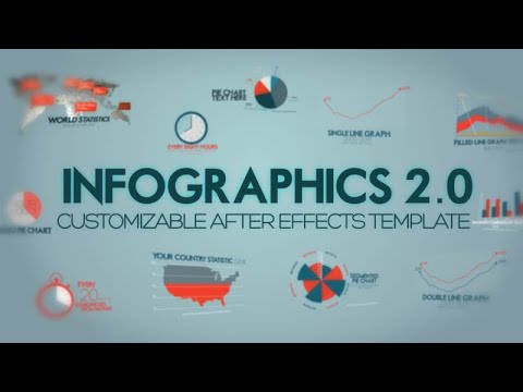 Infographics Version 2 After Effects Template