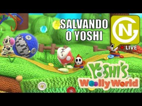 De dois é melhor ainda, vem jogar com a gente! | Yoshi Woolly World Coop #2