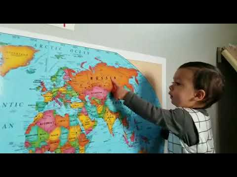 Bodhi at 16 months. 15 countries.