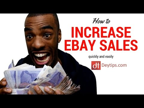 Selling on eBay QUICKLY and EASILY - Tips To Increase Sales