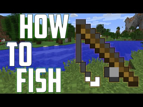 ★Minecraft How To Catch Fish Fast Like a Pro For Treasure [PC/PS4/PE/XBOX 360/XBOX ONE/PS3]