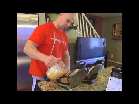 Muscle & Strength: Kurt's Kitchen - Sweet Potato Waffles