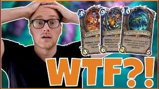 Hearthstone | WHAT is this Game?! | Wild Miracle Yogg Druid | Rise of Shadows