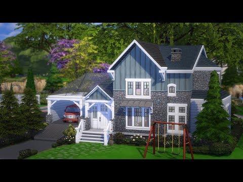 SIMS 4 SEASONS HOUSE BUILD