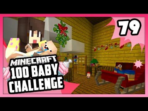 WINTER WONDERLAND BEDROOM! - Minecraft: 100 Baby Challenge - EP 79