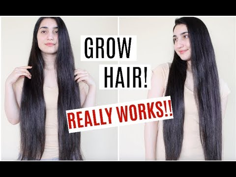 Grow Your Hair FASTER & LONGER! Hair Growth w/ Rice Water! (REALLY WORKS!!!)
