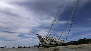 Cars submerged, boats upturned: Hurricane Nate aftermath