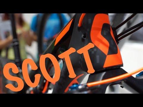 New SCOTT Bikes 2016 (Genius LT, Gambler, Genius, Spark, Scale, Contessa) - Eurobike 2015
