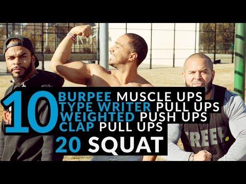 Intense Workout Routine 2017 | Barstarzz