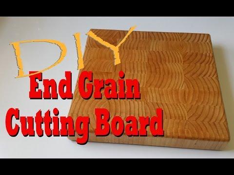 DIY End Grain Cutting Board from a 2x4