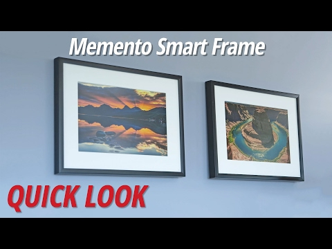 Quick Look | Memento Smart Frame