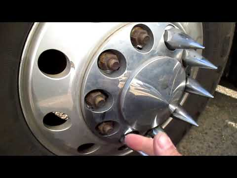 Wheel Cover With Hubcap Lug Nut Covers Stolen