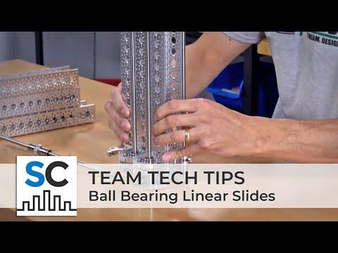 Actobotics® Team Tech Tip: Ball Bearing Linear Slides